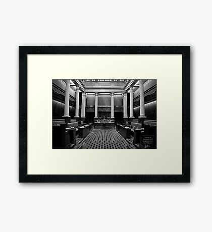 The Legislative Council Framed Print