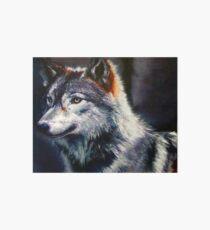 Great Plains Wolf Art Board