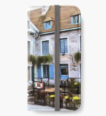 Place Royale - Old Quebec City iPhone Wallet/Case/Skin