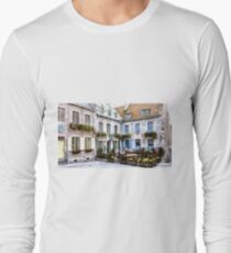 Place Royale - Old Quebec City Long Sleeve T-Shirt