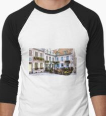 Place Royale - Old Quebec City Men's Baseball ¾ T-Shirt