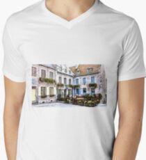Place Royale - Old Quebec City Men's V-Neck T-Shirt