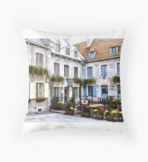 Place Royale - Old Quebec City Floor Pillow