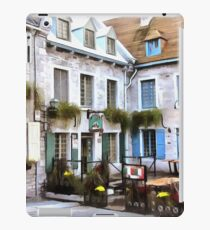 Place Royale - Old Quebec City iPad Case/Skin