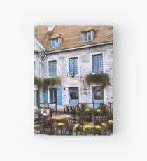 Place Royale - Old Quebec City Hardcover Journal