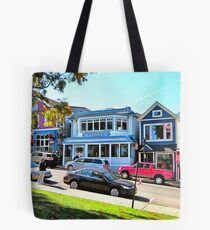 Main Street - Bar Harbor Tote Bag