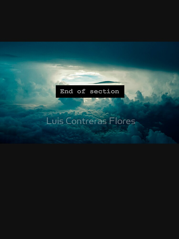 End of Section de luiscontreras