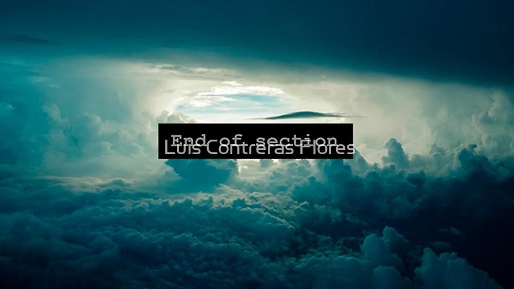 «End of Section» de Luis Contreras Flores