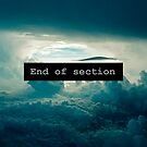 «End of Section» de Luis Contreras Flores