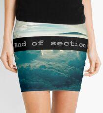 End of Section Minifalda