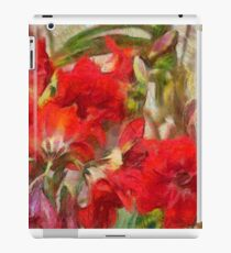 Red Lilies iPad Case/Skin