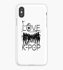 LOVE K-POP MUSIC iPhone Case/Skin