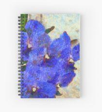Vandas in Bloom Spiral Notebook