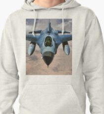 F-16 Falcon Jet Fighter Pullover Hoodie