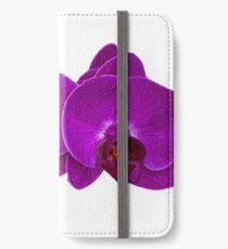 Fuchsia Phalaenopsis iPhone Wallet/Case/Skin