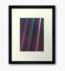 Pale Blue Dot, Voyager 1  Framed Print