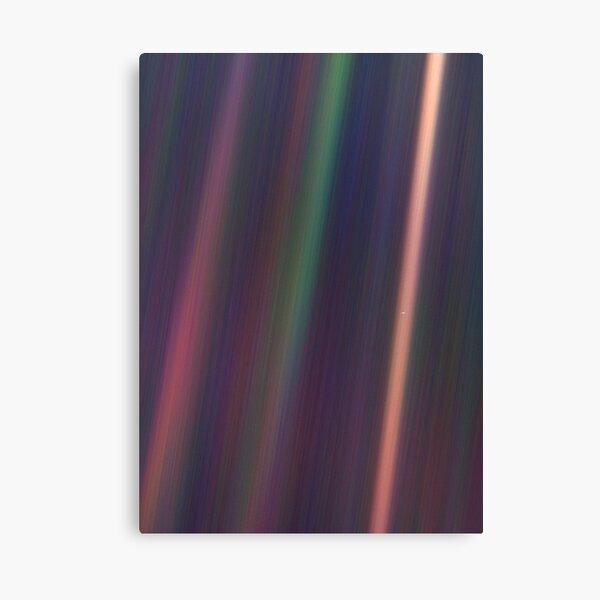 Pale Blue Dot, Voyager 1  Canvas Print