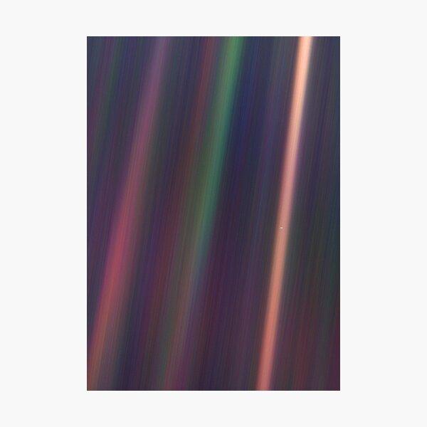 Pale Blue Dot, Voyager 1  Photographic Print