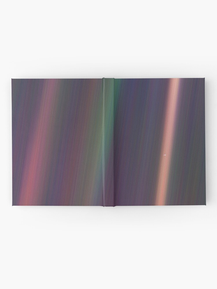 Quot Pale Blue Dot Voyager 1 Quot Hardcover Journal By