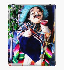 Pedrito enjoying his pomegranate margarita iPad Case/Skin