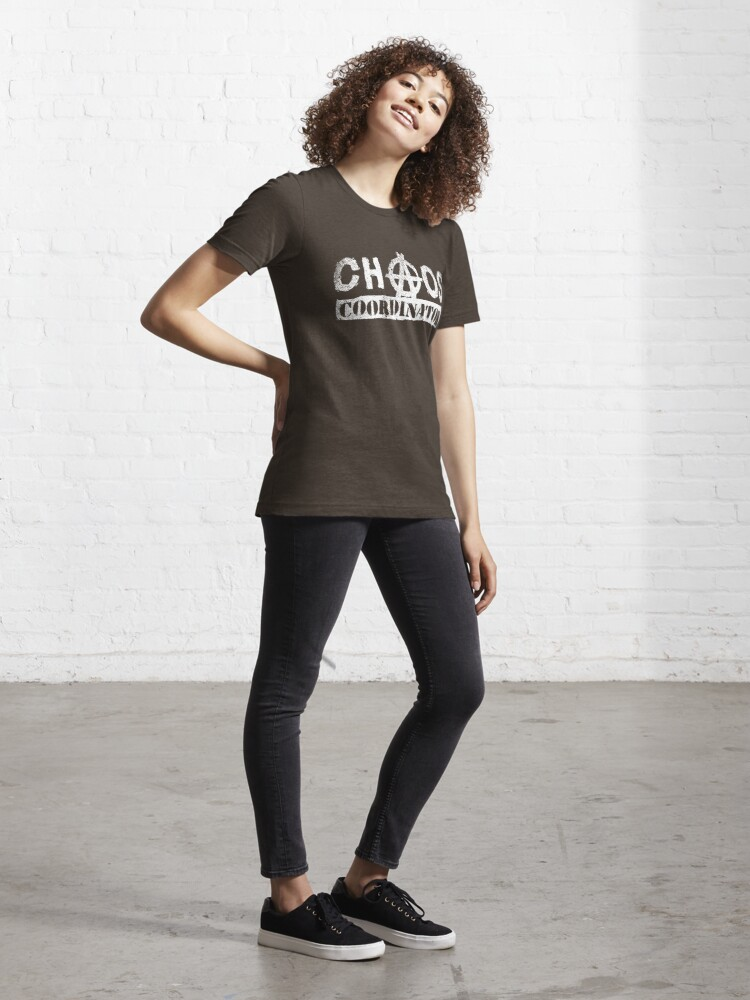 Alternate view of Chaos Coordinator - Funny Teacher Gift Essential T-Shirt