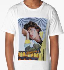 Modern Human Giants Environmental Collage Long T-Shirt