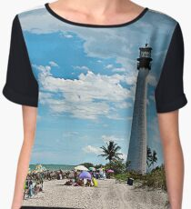 Lighthouse Beach Chiffon Top
