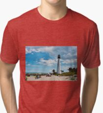 Lighthouse Beach Tri-blend T-Shirt