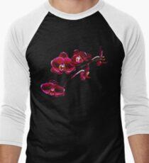 Orchids #8 Men's Baseball ¾ T-Shirt