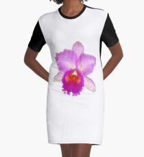 Orchid #7 Graphic T-Shirt Dress