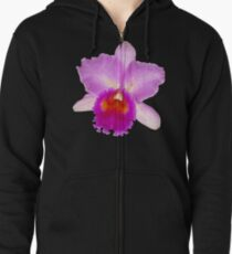 Orchid #7 Zipped Hoodie