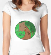 Be More Kind To The Nature Women's Fitted Scoop T-Shirt