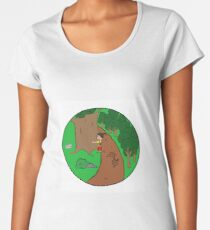 Be More Kind To The Nature Women's Premium T-Shirt