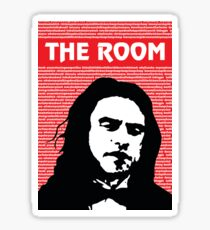 The Room Disaster Artist Tommy Wiseau Greg Sestero Sticker
