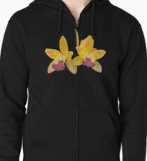 Orchids #6 Zipped Hoodie