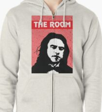 The Room Disaster Artist Tommy Wiseau Greg Sestero Zipped Hoodie