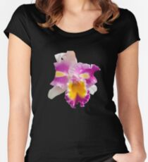 Orchids #5 Women's Fitted Scoop T-Shirt