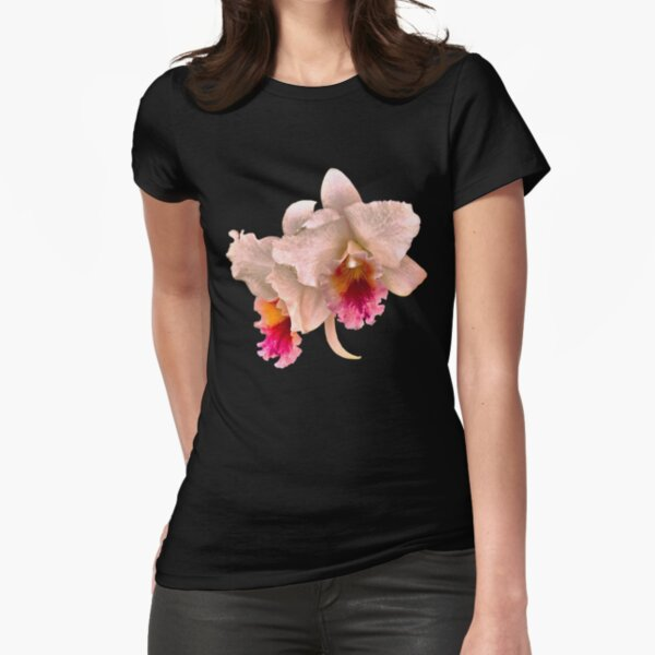 Orchids #4 Fitted T-Shirt