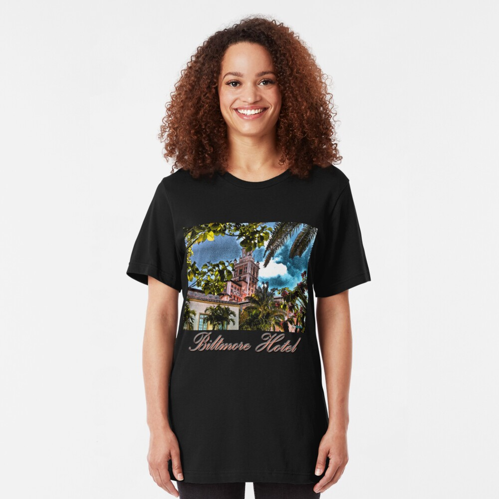 Biltmore Hotel Slim Fit T-Shirt