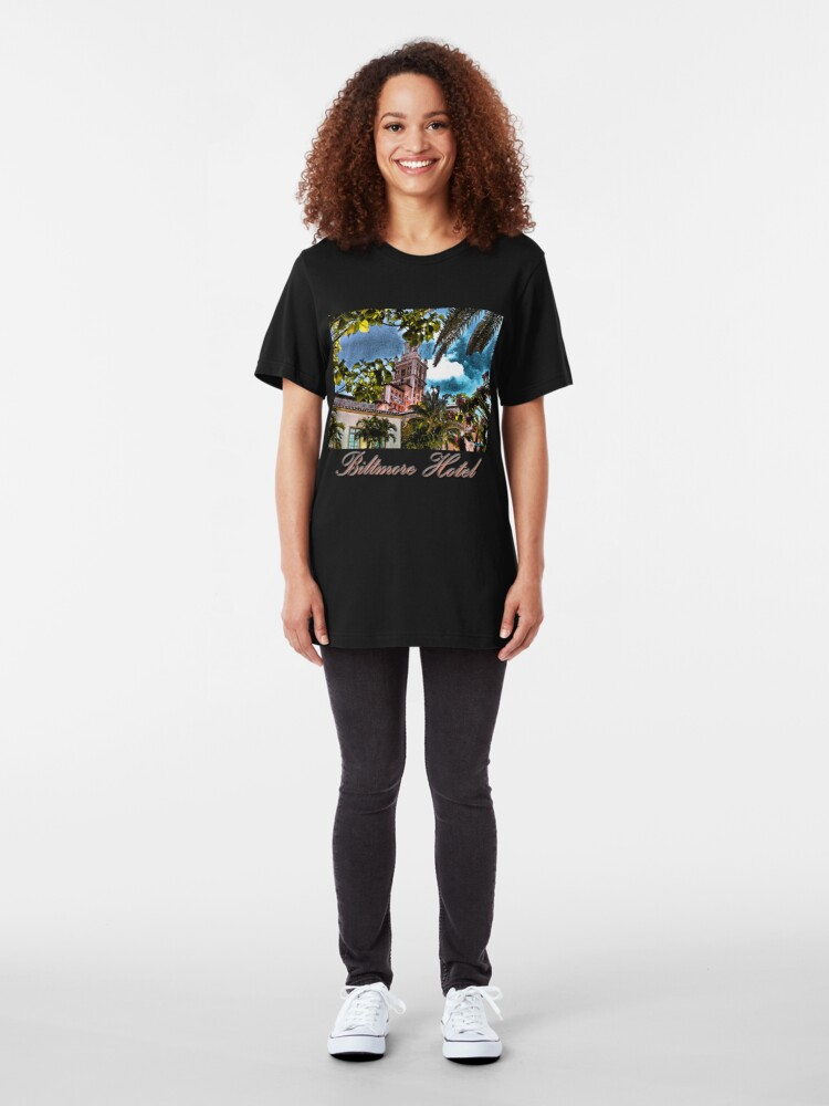 Alternate view of Biltmore Hotel Slim Fit T-Shirt