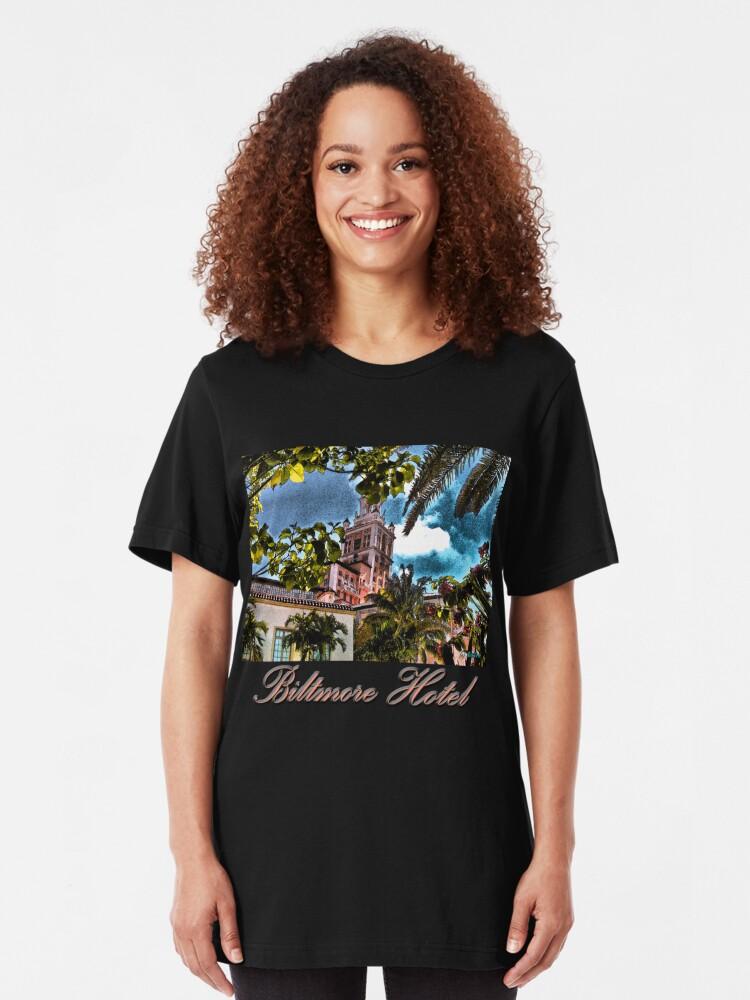Alternate view of Biltmore Hotel Slim Fit T-Shirt