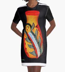 Corn Maiden Graphic T-Shirt Dress