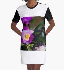 Bright Sunday Graphic T-Shirt Dress