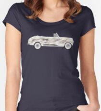 coche grease Fitted Scoop T-Shirt