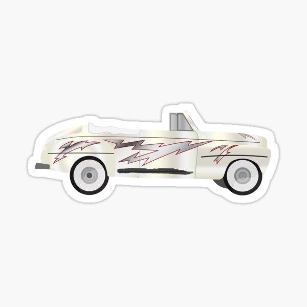 coche grease Pegatina