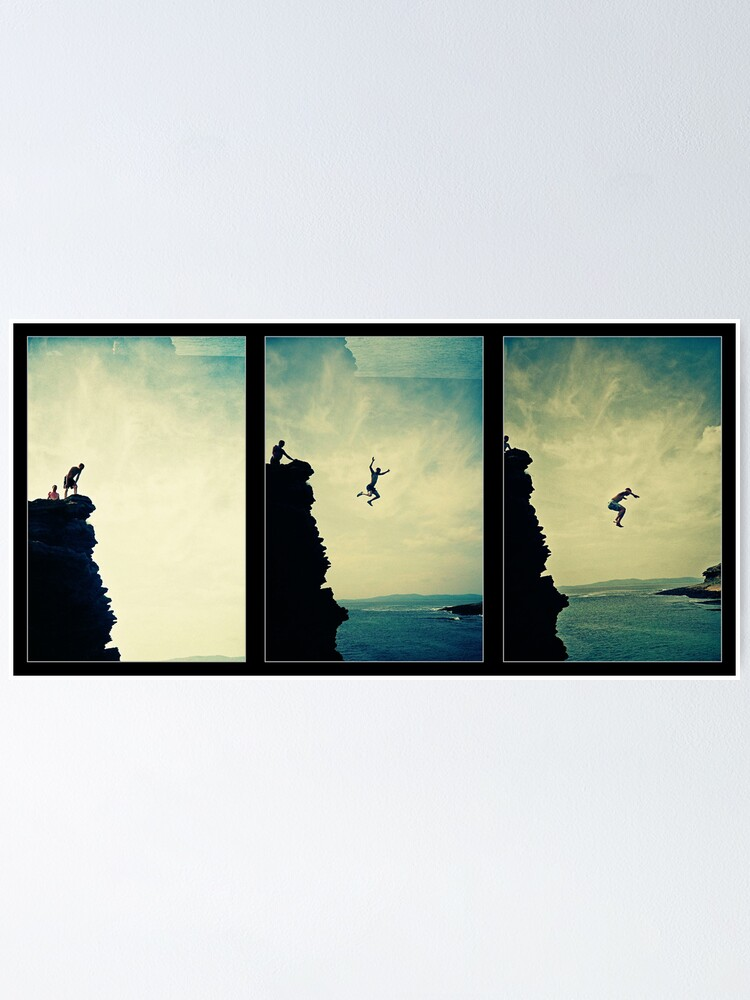 Alternate view of Cliffjump Sequence Poster