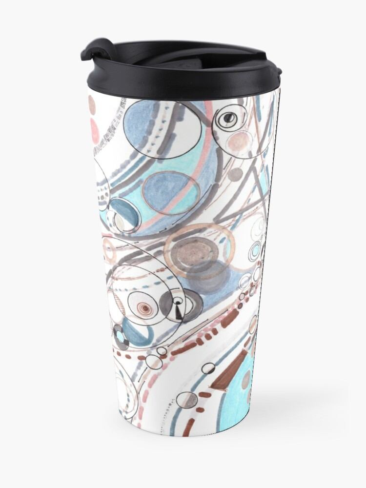 Alternate view of The Diffractive Nature of Being Travel Mug