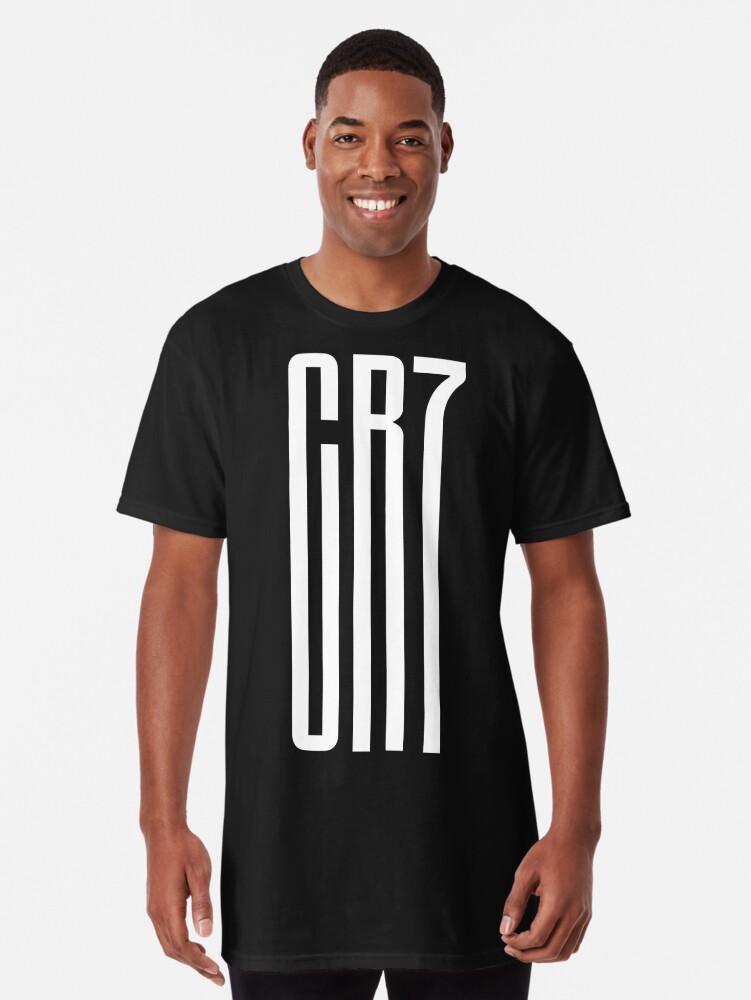 finest selection cdb98 86eb9 'CR7 Juve Fans' Long T-Shirt by elhefe