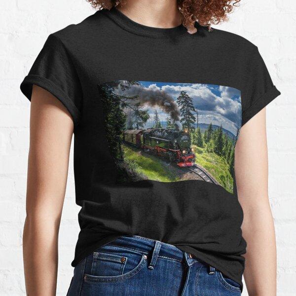 Steam locomotive - Harz narrow gauge railways (Germany) Classic T-Shirt