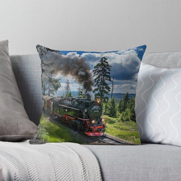 Steam locomotive - Harz narrow gauge railways (Germany) Throw Pillow